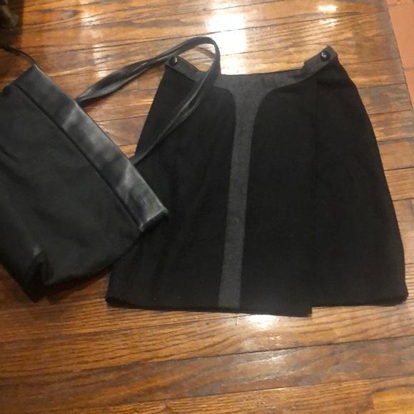 Robert Rodriguez Dresses & Skirts - ROBERT RODRIGUEZ 2-Tone Tops Mini Skirt